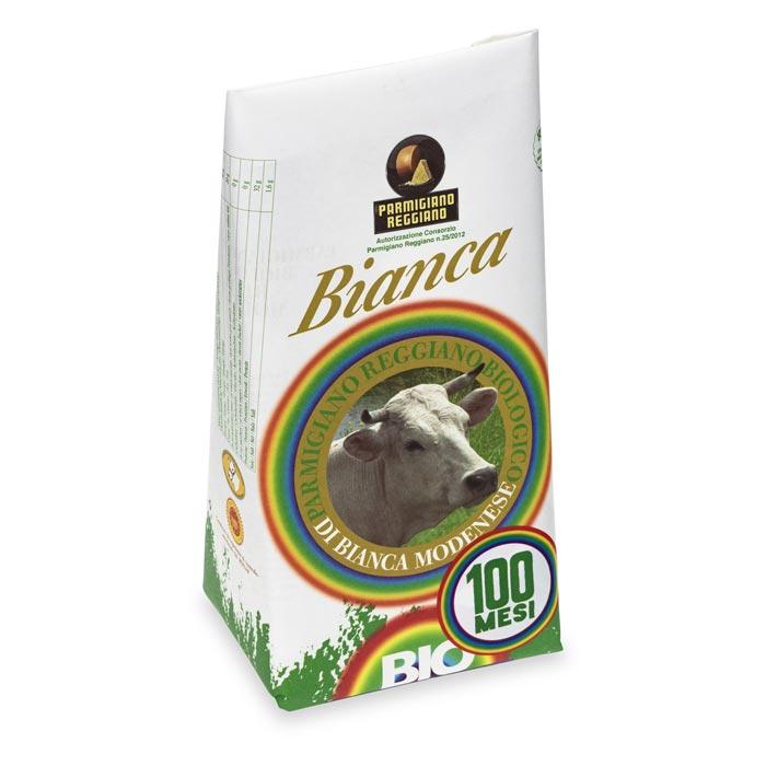 Organic Modenese White Parmigiano Reggiano 100 months