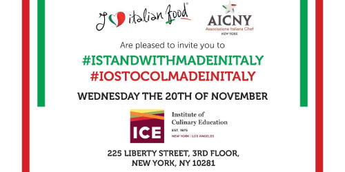 I stand with Made in Italy