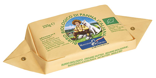 New flanged Italian Organic Butter